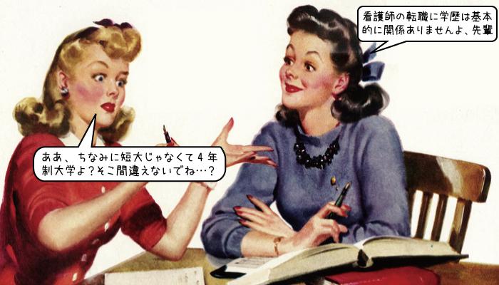 看護師の転職に学歴は基本的に関係ありません!