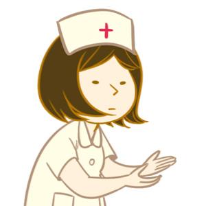 後輩看護師